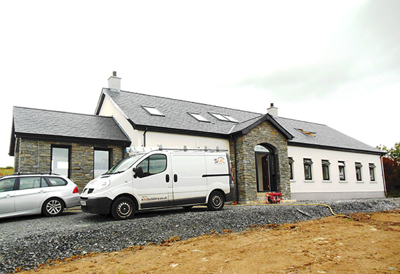 new build house in ballygowan