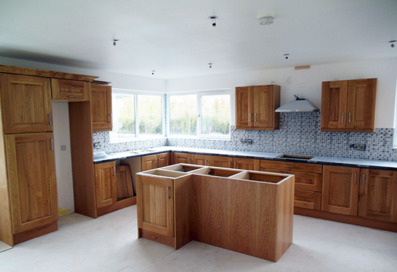 kitchen fitting belfast